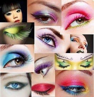 Maquiagem 3D Diversos modelos