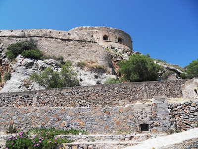 Fortress at Spinalonga Island