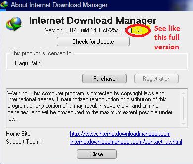 internet download manager registration key free