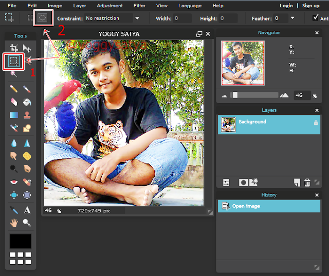 Cara Membuat Foto Profil menjadi lingkaran