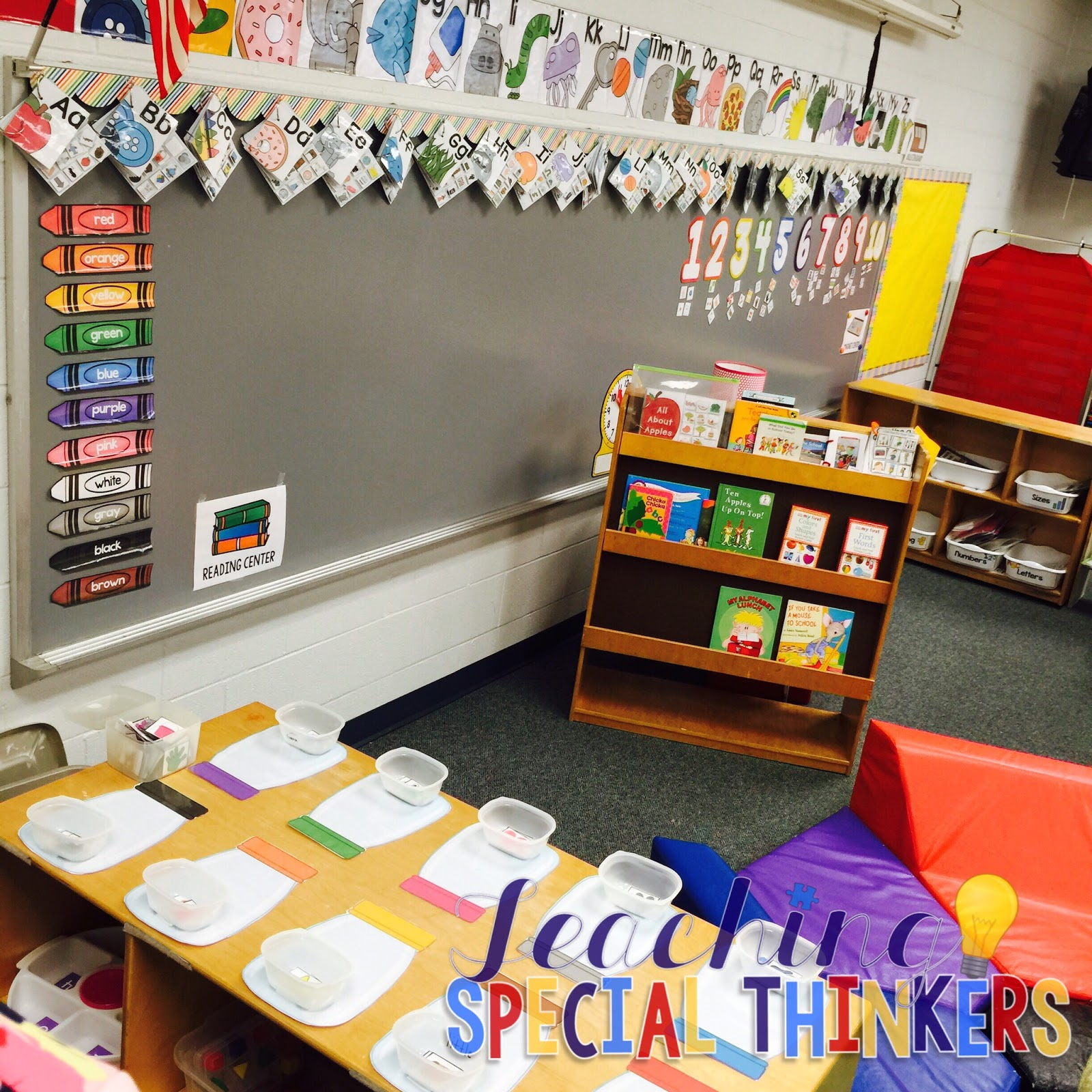 Classroom Ideas For Autistic Students ~ Here s to another year autism classroom tour teaching