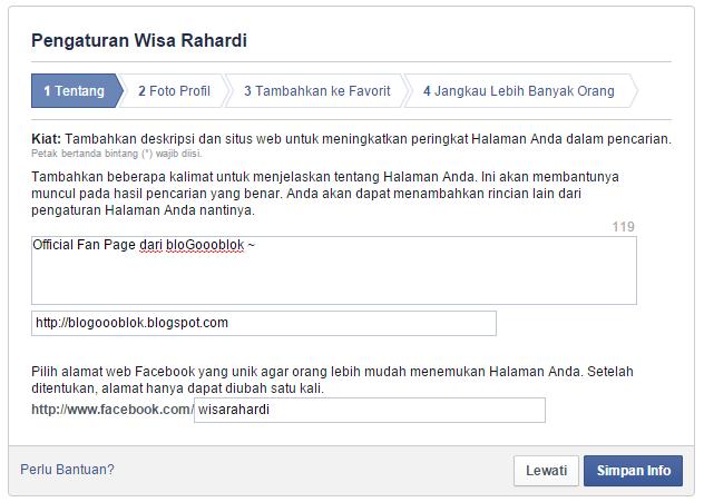 Cara Mengganti Nama Profil FB Sepuasnya - Facebook 72