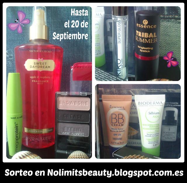Sorteo en http://nolimitsbeauty.blogspot.com.es/