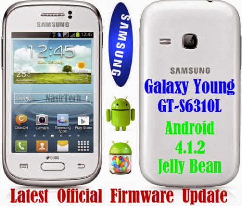 Jelly Bean Firmware for Galaxy Young GT-S6310L [Update Guide