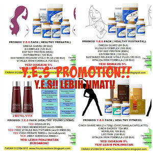 Promosi Y.E.S PACK SHAKLEE