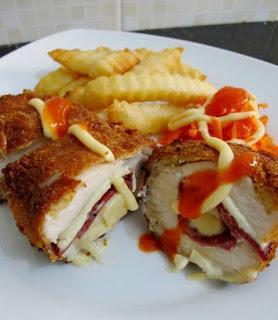 Resep Masakan Dada Ayam Isi