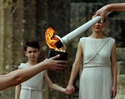 OLYMPIC 2012 FLAME CEREMONY HERA ZEUS