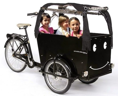 velo enfant transport triporteur