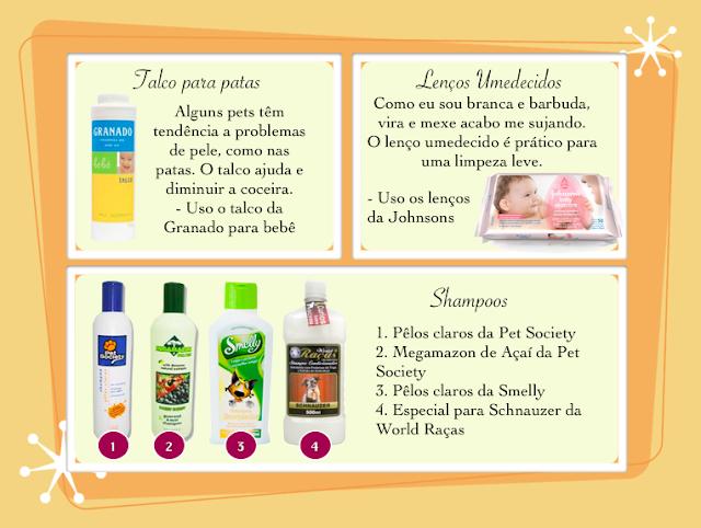 fotos produtos para higiene de cachorros