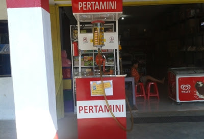 mesin pompa spbu mini