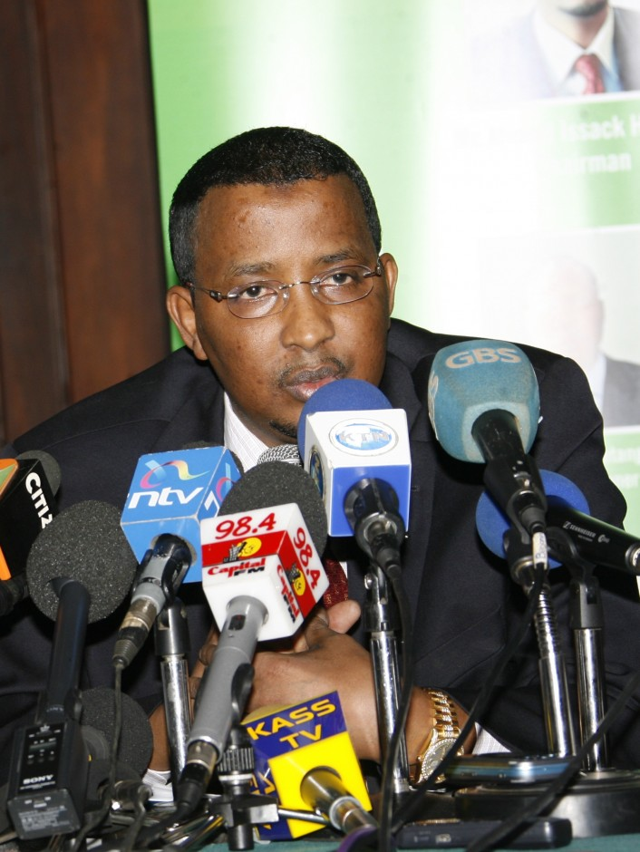 Miguna Attacked IEBC Chairman Isaack Hassan Raila