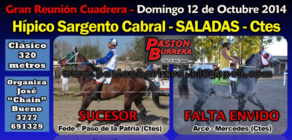 SALADAS - 12 DE OCTUBRE