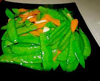 Mange tout easy recipe