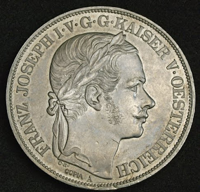 World coins Austria double taler 2 Thaler