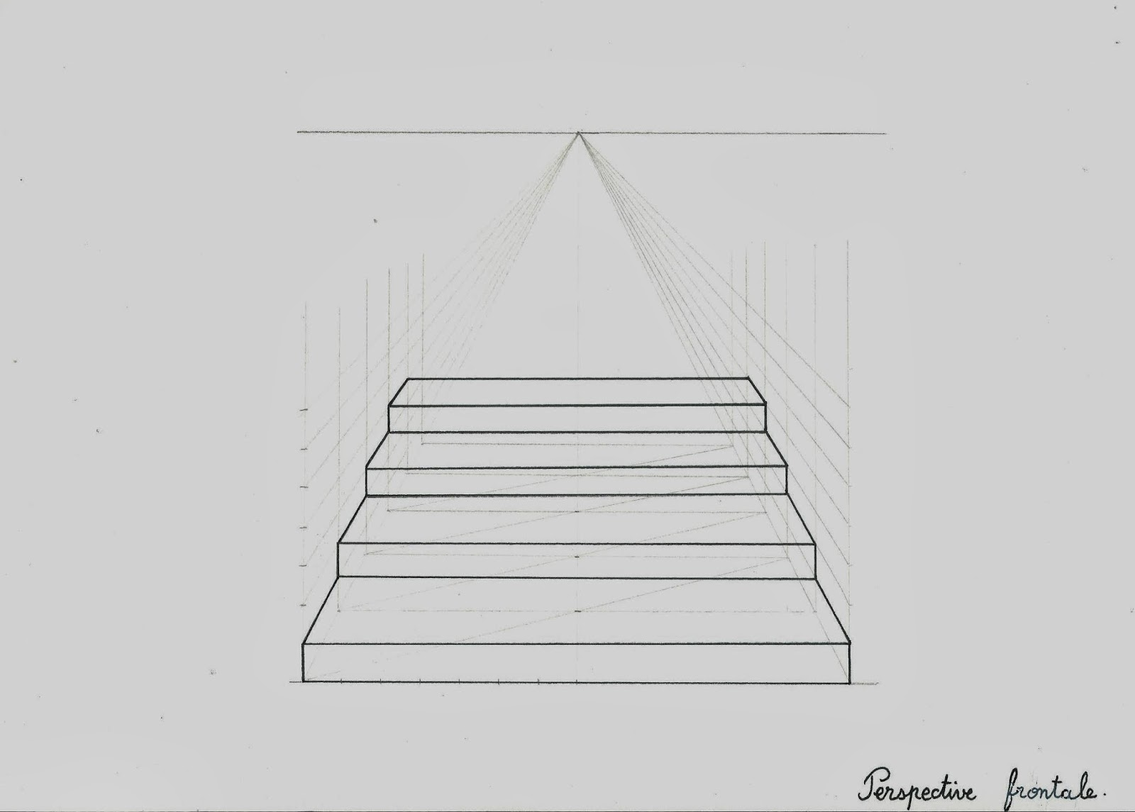 Perspective D Un Escalier Images : Chez vapi dessins et illustrations initiation au dessin