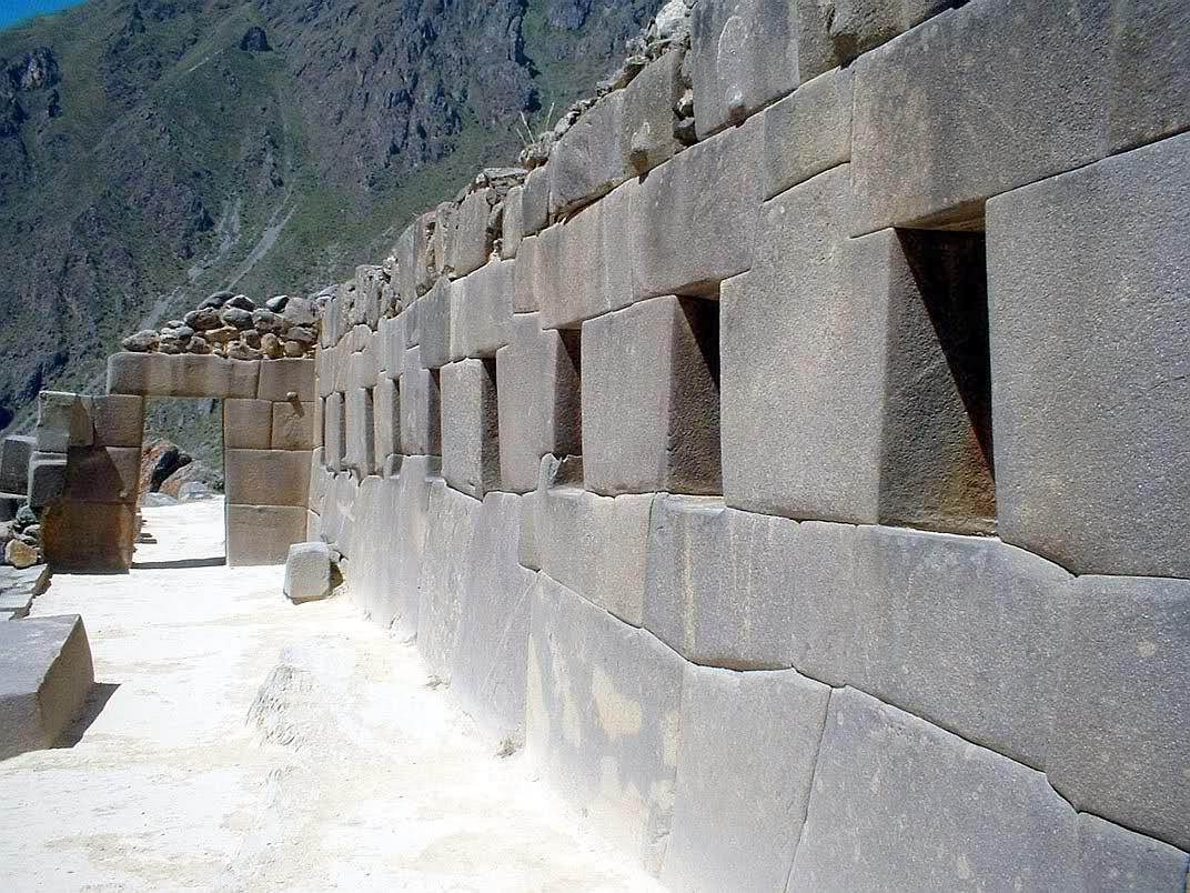 Culturas precolombinas incas for Arquitectura militar