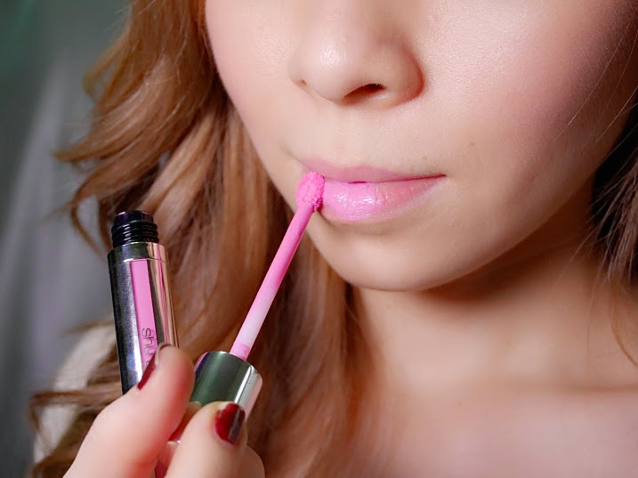 Pastel pink gloss