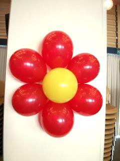 bunga balon - bunga matahari