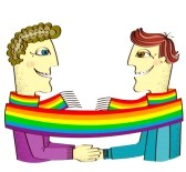 El amor gay a través de las miradas
