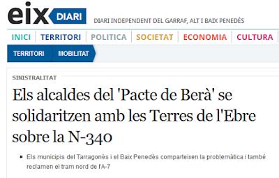 http://www.eixdiari.cat/territori/doc/57298/els-alcaldes-del-pacte-de-bera-se-solidaritzen-amb-les-terres-de-lebre-sobre-la-n-340.html