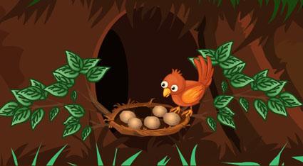 Find Sparrow Eggs Escape
