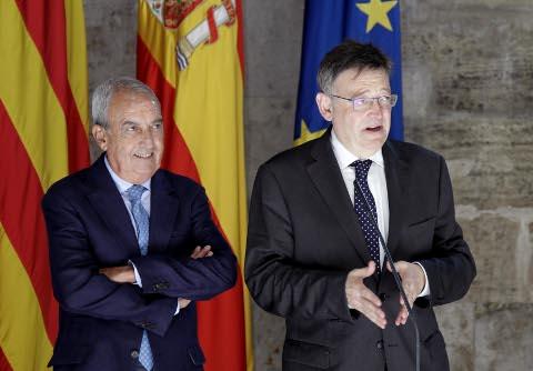 Puig: 'El Corredor Mediterráneo debe ser tratado como un problema español y europeo, no solo valenciano'