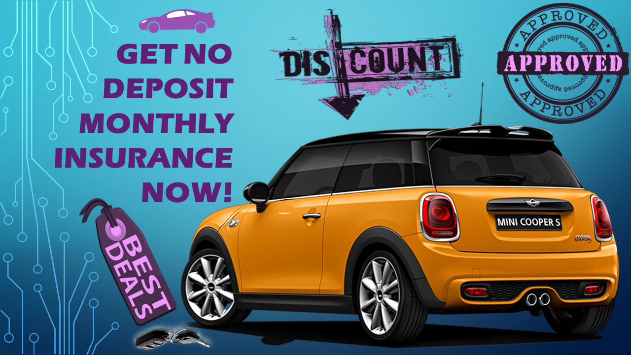 No Deposit Required For Cheap Car Insurance