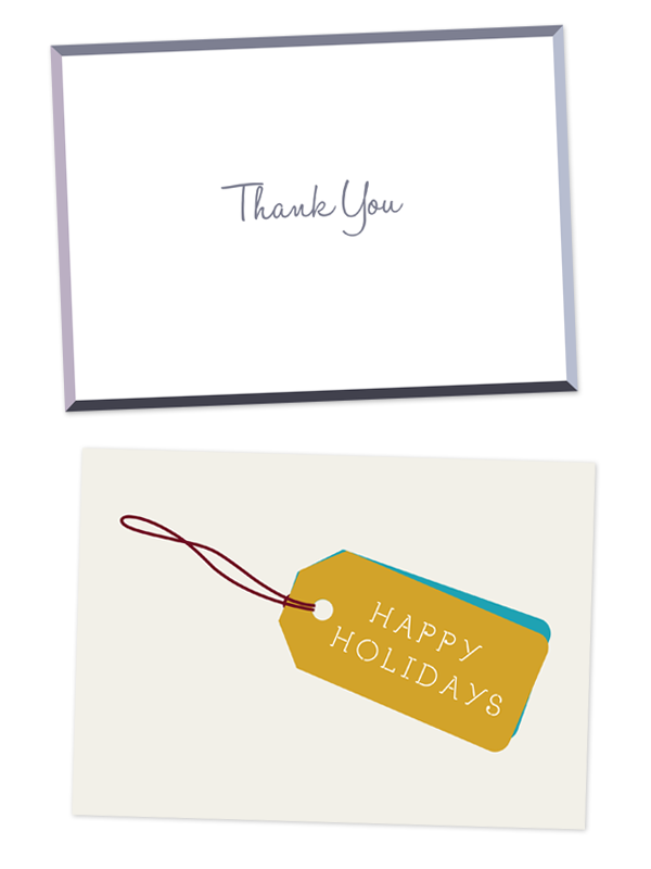mai paper shop, thank you card, greeting card