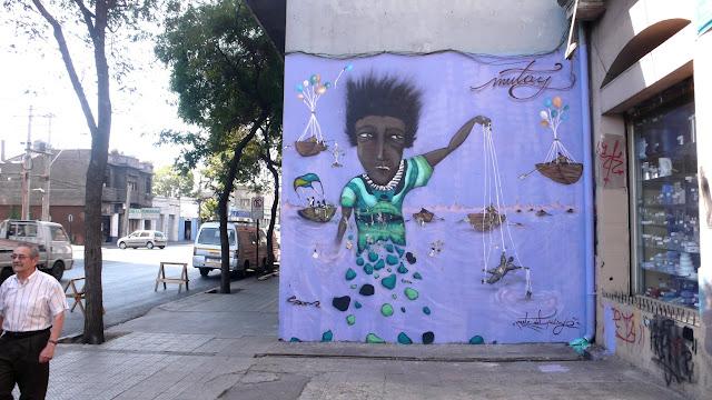 street art santiago de chile barrio yungay brasil graffiti arte callejero mutay