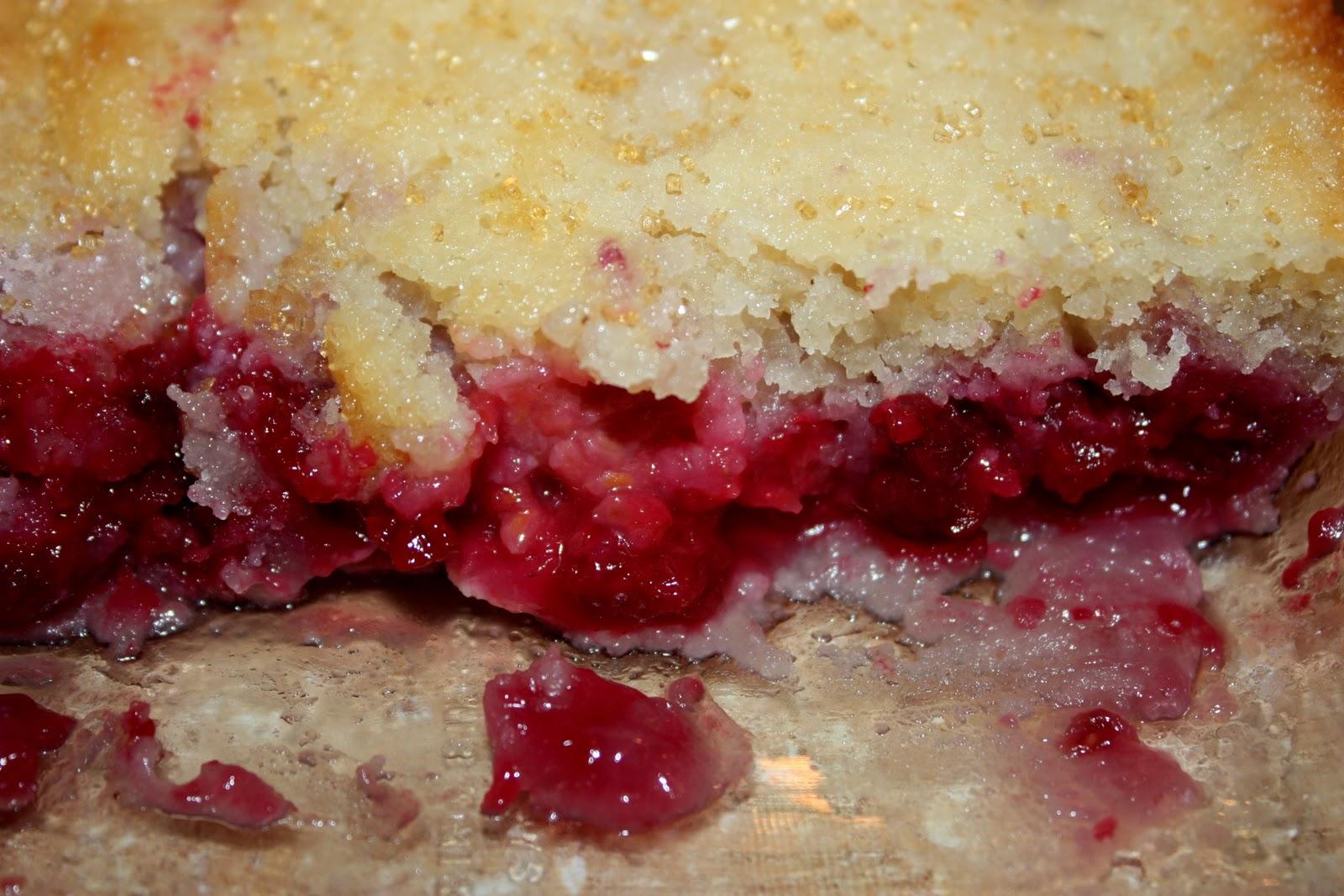 Raspberry Cobbler