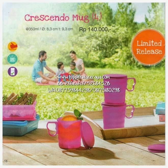 Promo Tupperware Maret Crescendo Mug