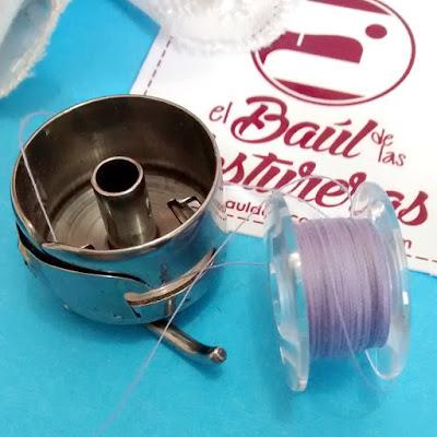 Mantenimiento máquina de coser mantenga en buen estado las bobinas y porta bobinas carretel canillas
