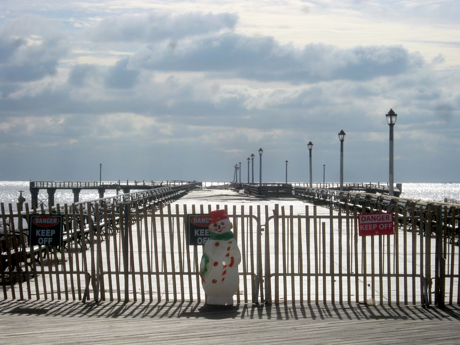 Boardwalking: Hurricane Sandy Images
