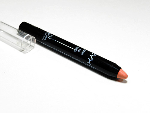 nyx irish coffee jumbo lip pencil