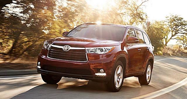 2017 Toyota Highlander Limited Release Date