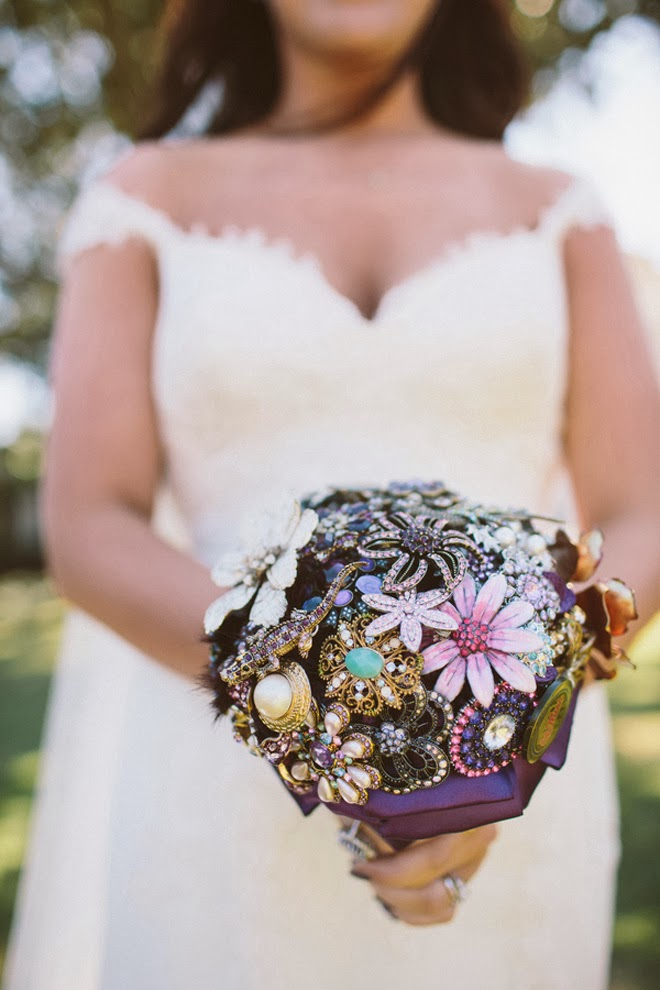 Bridal Bouquets New Orleans : Purple pretty destination wedding in new orleans belle