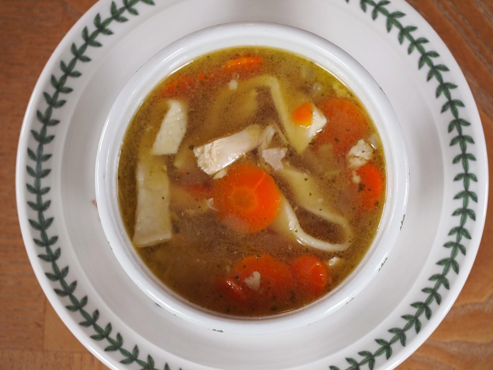 My girlfriend 39 s best recipes chicken noodle soup with for Best homemade chicken noodle soup recipe