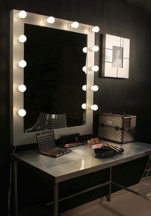 Dekotipo design nuevos modelos espejo maquillaje - Espejos con bombillas ...