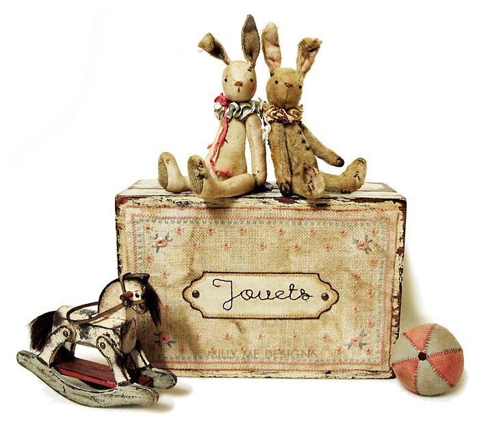 primitive bunnies
