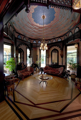 Mableton Geometric Domed Ceiling