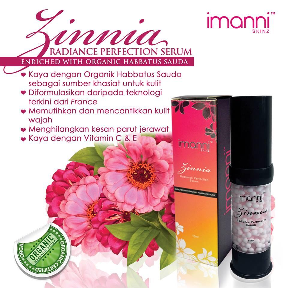 Zinnia Radiance Perfection Serum