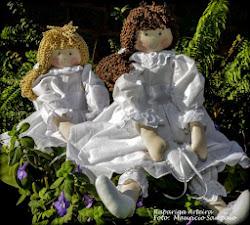 Bonecas de Pano Porta Alianças para Daminhas