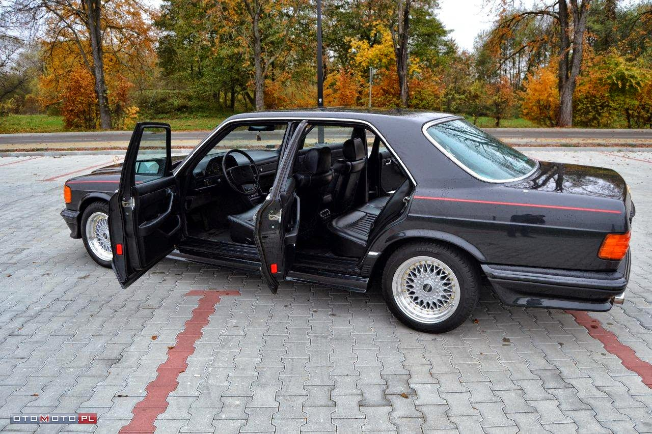 Mercedes Benz W126 500se Brabus on mercedes benz gl class