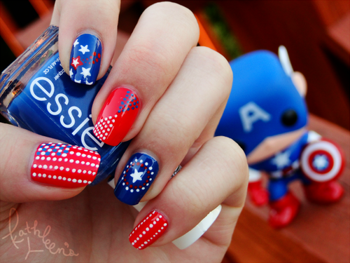 Lush fab glam blogazine get patriotic with red white blue nail which red white and blue nail design will you rock over the long weekend leave a comment below prinsesfo Gallery