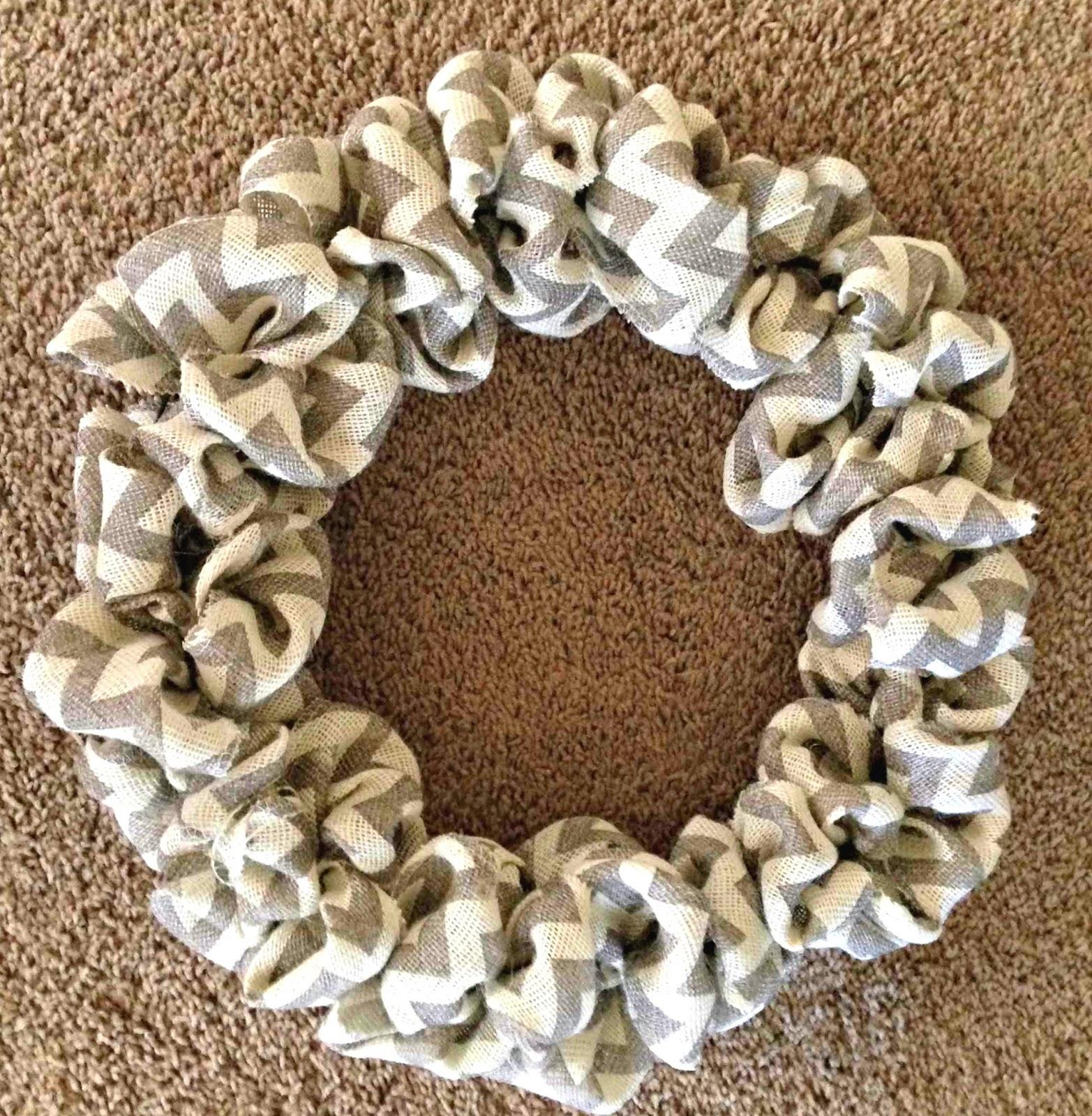 All things katie marie diy burlap wreath for Burlap flower template