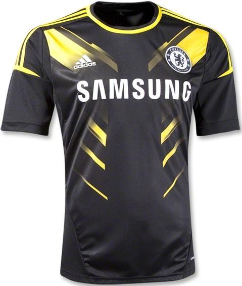 4e832368076f3 Camisas e Manias  Chelsea (ING)  Nova 3ª camisa 2012 13