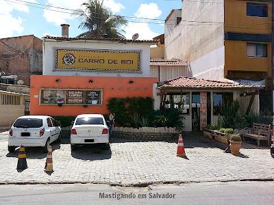 Restaurante Carro de Boi: Fachada da loja da Boca do Rio