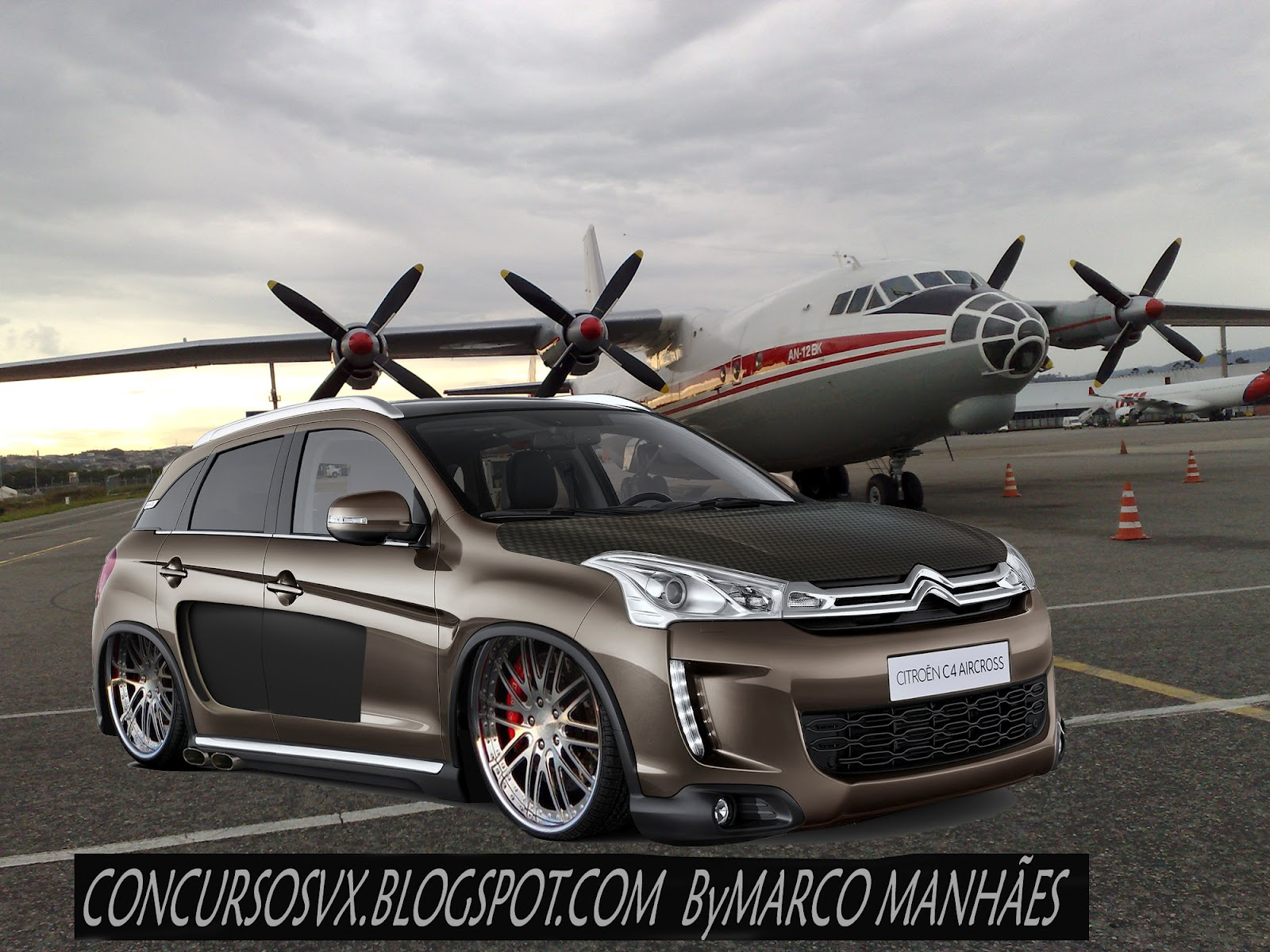 Concursos Vx  Virtual Custom  C4 Aircross 2012