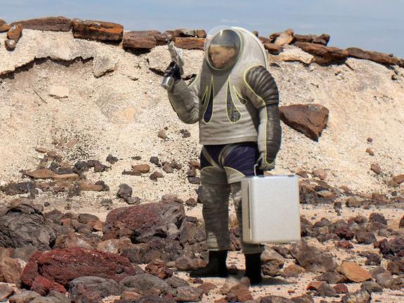 Inilah Baju Astronot yang Nantinya Dipakai di Planet Mars