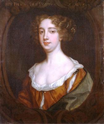 Aphra Behn painted by Sir Peter Lely, ca. 1670.